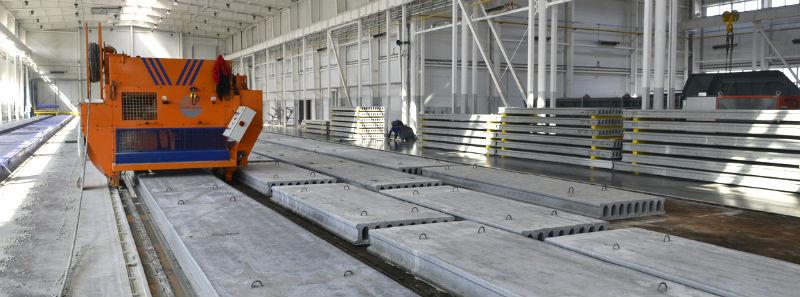 производство ЖБИ плит перекрытий